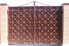 кованые ворота и калитки в Казани