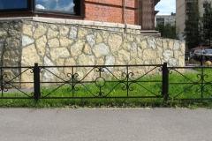 кованые газонные ограждения в казани