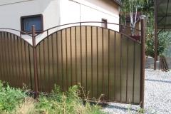 кованые заборы в Казани