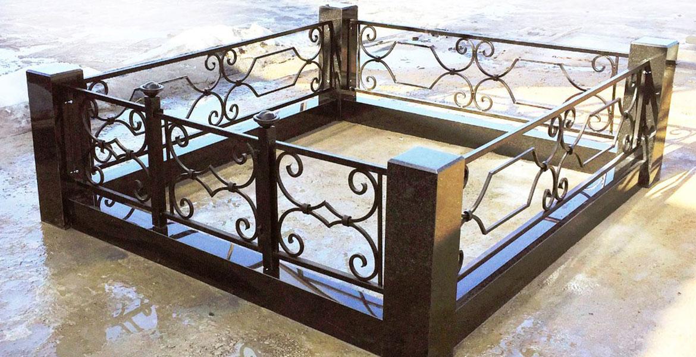 Ритуальные кованые и сварные ограды