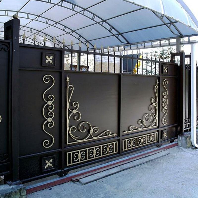 Преимущества кованых ворот и калиток