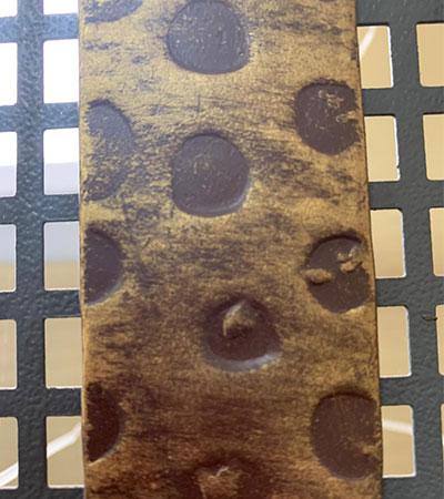 Полоса художественная «Леопард» 4х25