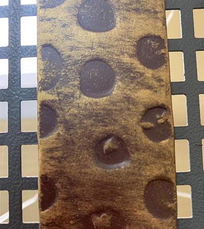 Полоса художественная «Леопард» 4х50