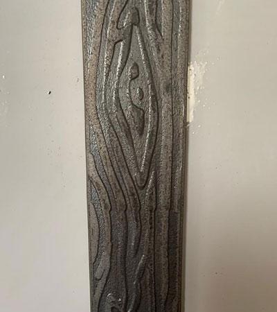 Полоса художественная «Дерево» 4х40